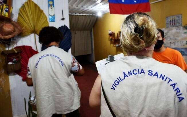 Prefeitura realiza fiscalização e lacra academia em Campinas