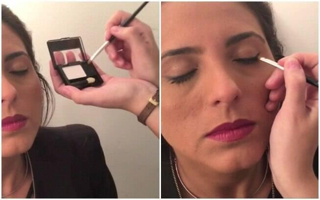 2º Passo: maquiagem para levantar o olhar