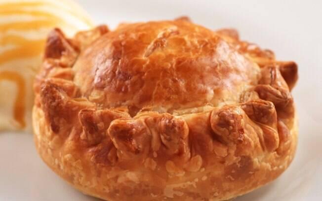 Foto da receita Torta de maçã americana pronta.