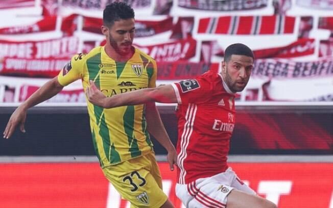 Benfica e Tondela empatam em 0 a 0