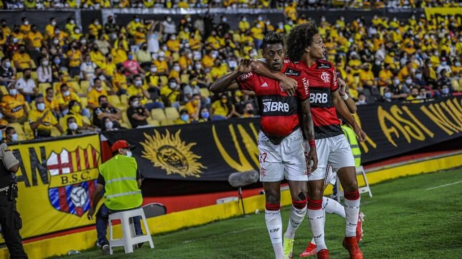 Barcelona (EQU) foi derrotado pelo Flamengo em casa