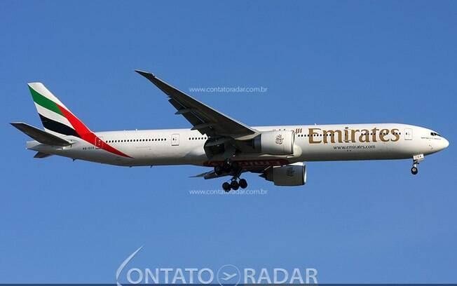 Emirates anuncia mais frequências do seu voo para São Paulo