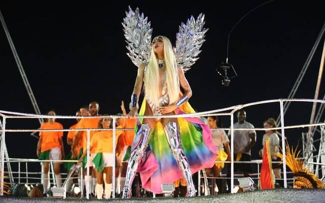 Pabllo Vittar é destaque da Beija-Flor no carnaval 2018
