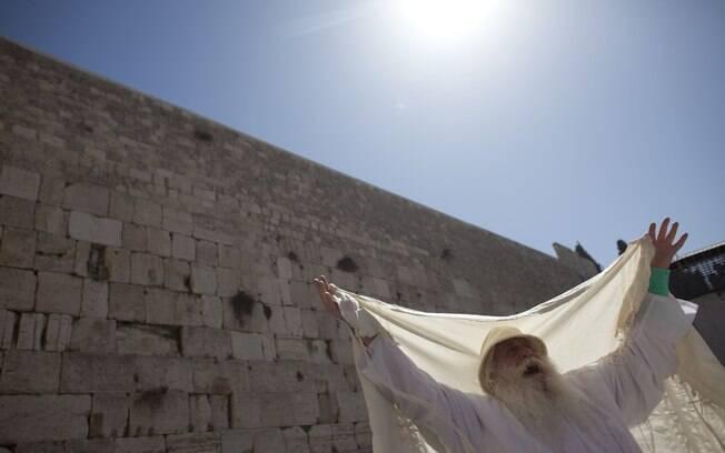 Muro das Lamentações, lugar sagrado do judaísmo