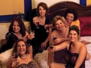 MATERIA GAROTAS DO CALENDARIO Mulheres fazem calendario sensual para ajudar instituicao de caridade .  FOTO : Alexandre Telles / Divulgacao