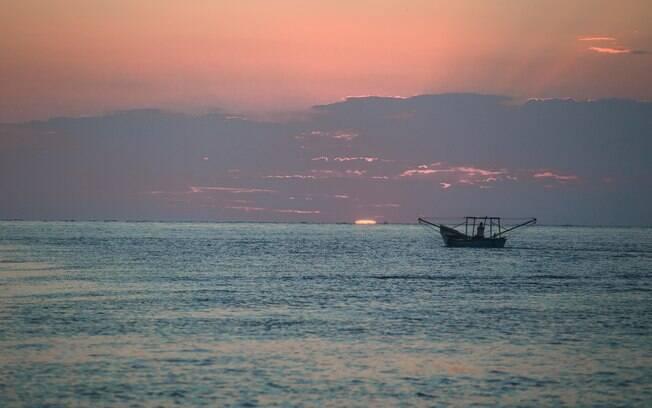 Cananéia: o começo da jornada diária de um pescador