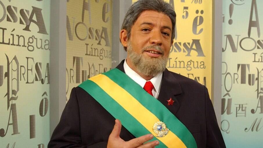 Bussunda imitando o ex-presidente Lula