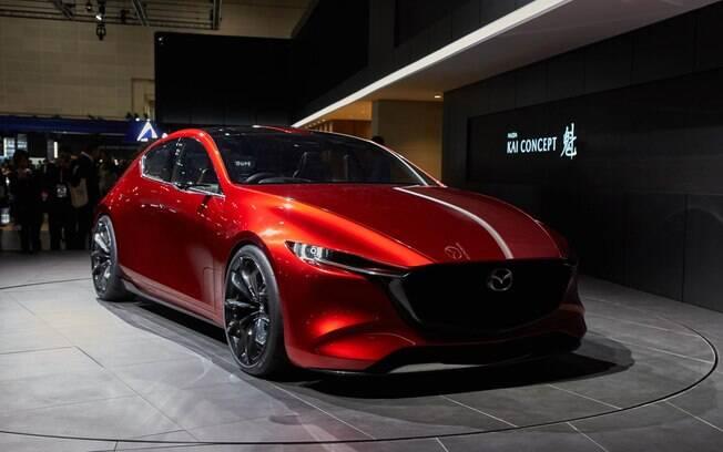 Mazda Kai Concept:  protótipo da marca japonesa é um dos modelos que tem roubado na cena no Salão de Tóquio
