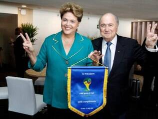 Dilma se encontrou com Blatter