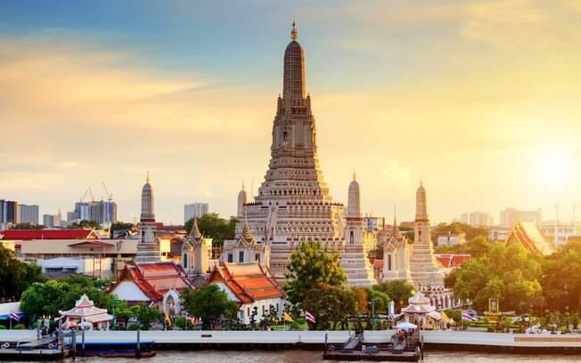 Bangkok, a capital da Tailândia, é o destino asiático mais procurado pelos brasileiros
