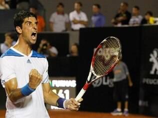 Com o triunfo, Bellucci disputará a sexta final na carreira em torneios nível ATP