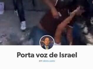 Declarações polêmicas entre Brasil e Israel viram inspiração para página no Tumblr