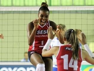 Fabiana tem feito a diferença a favor do Sesi-SP nos últimos jogos