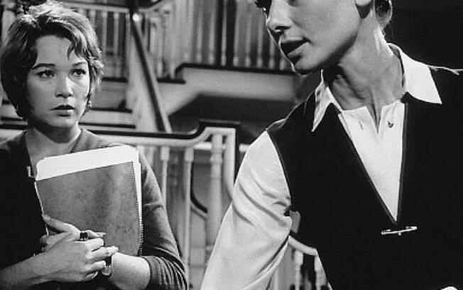 Audrey Hepburn e Shirley MacLaine em