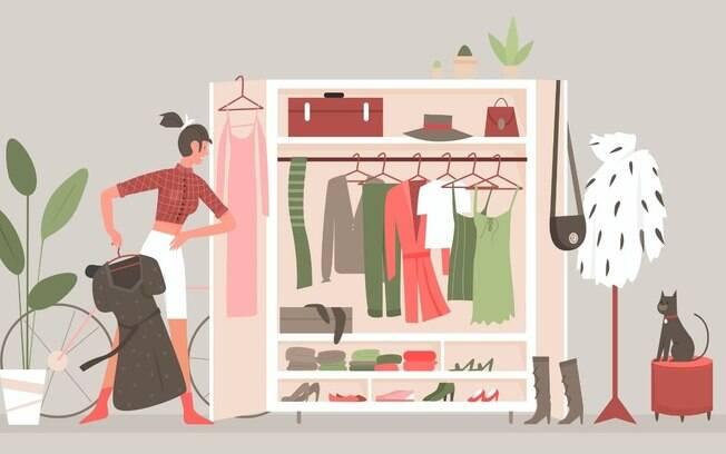 Sem bagunça: aprenda a organizar suas roupas de uma vez por todas