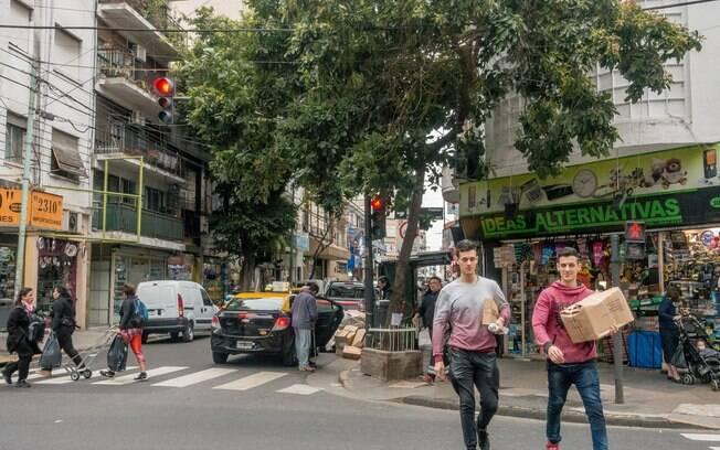 O bairro de Palermo é um dos mais vívidos de Buenos Aires, com restaurantes, lojas e cultura