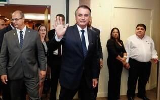 Bolsonaro recebe presidentes de outros poderes para 'mostrar harmonia'
