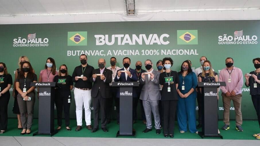 ButanVac Vacina Butantan Covid-19