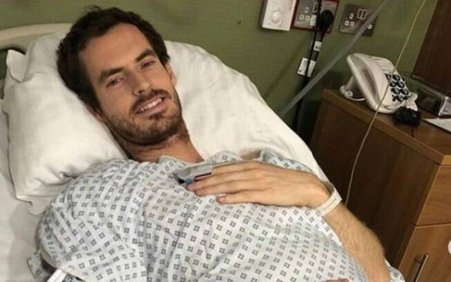 Andy Murray em cirurgia realizada nesta segunda-feira (28)