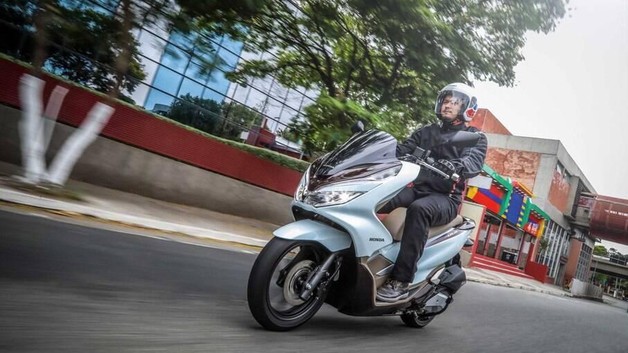 Honda PCX é o scooter de maior destaque na plataforma de compra e vendas OLX
