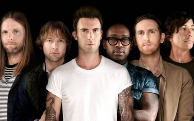 Com vários hits de sucesso, Maroon 5 concilia pegada pop com influências do rock e prova que sabe conquistar o público