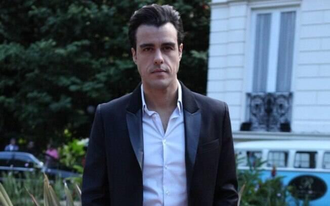 Joaquim Lopes nos estúdios Globo