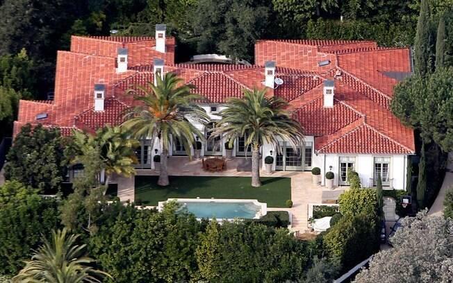 Mansão de Victoria e David Beckham em Los Angeles, onde a família vive atualmente
