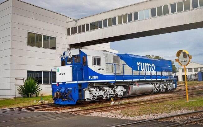 Para vencer o leilão, a Rumo se comprometeu a investir R$ 2,7 bilhões no trecho da Ferrovia Norte-Sul oferecido