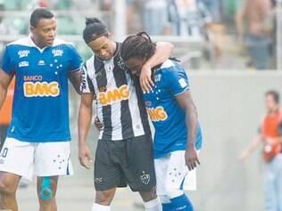 Atlético, de Ronaldinho Gaúcho, e Cruzeiro, de Tinga e Julio Batista, começam a decidir mais um Campeonato Mineiro, hoje
