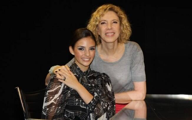 Carol Celico e Marilia Gabriela:
