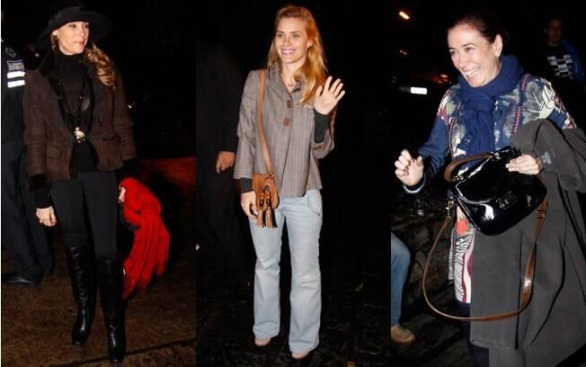 Christiane Torloni, Carolina Dieckmann e Lília Cabral, as estrelas de Fina Estampa