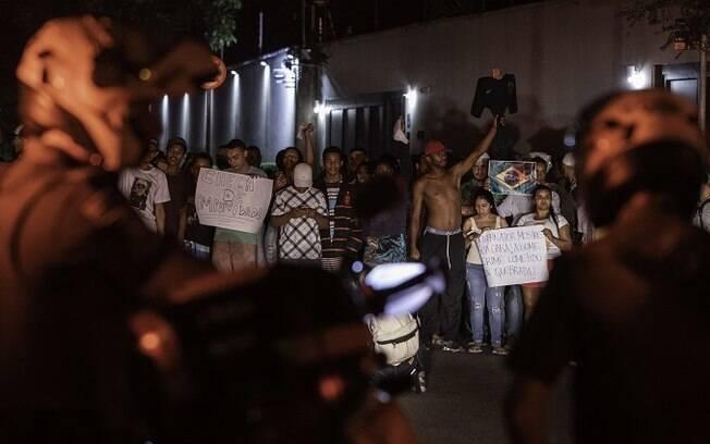 População fez protestos em Paraisópolis pela morte de nove pessoas no Baile da dz7