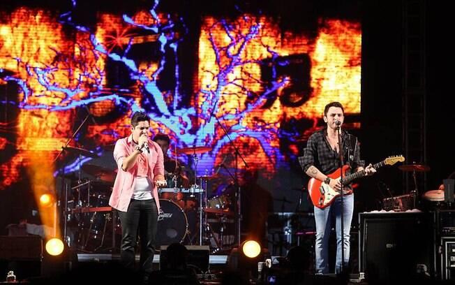 Jorge & Mateus também subiram no palco do festival de verão da cidade
