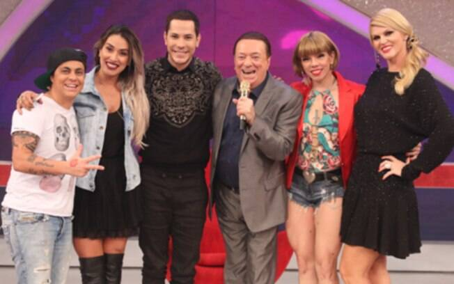 Thammy Miranda, Dani Bolina, Christian Chávez, Raul Gil, Penélope Nova e Val Marquiori