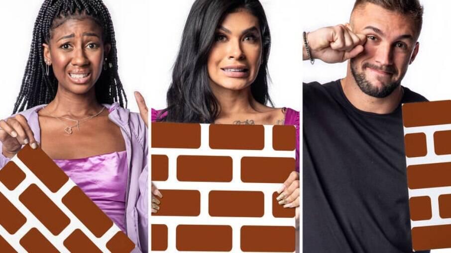 Camila, Pocah e Arthur estão no paredão