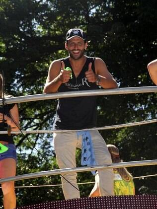 Henri Castelli no carnaval de Salvador
