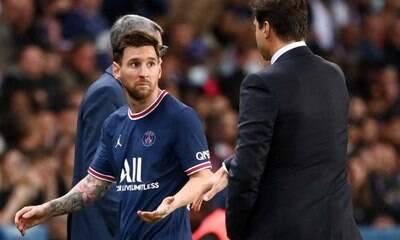 Messi sentiu desconforto no joelho minutos antes de ser substituído