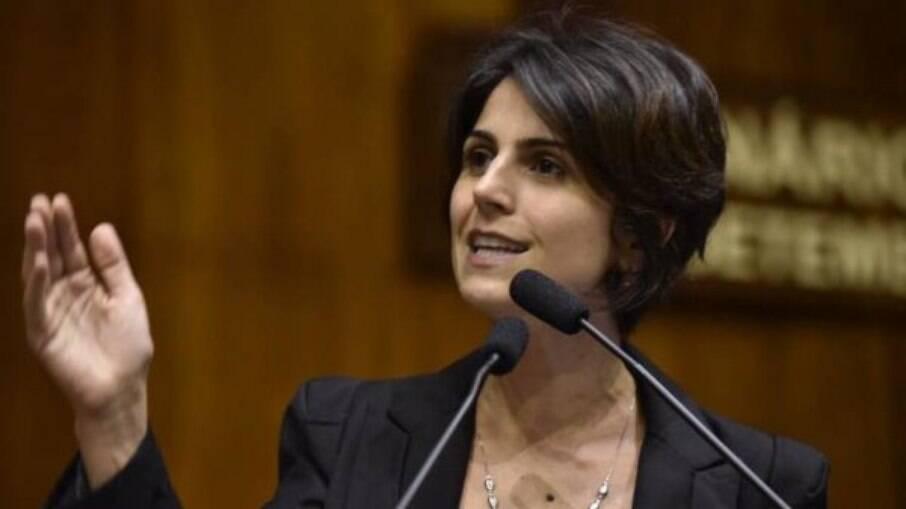 Política e jornalista, Manuela d'Ávila