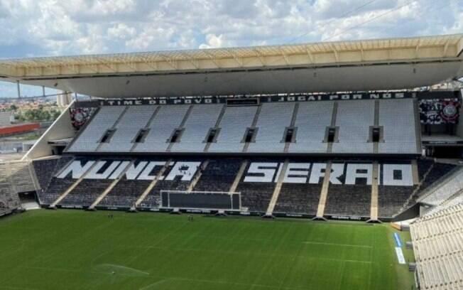 Corinthians prepara mosaico para clássico contra o Palmeiras: 'Nunca serão'