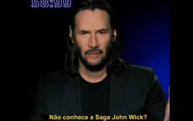 Keanu Reeves explica franquia