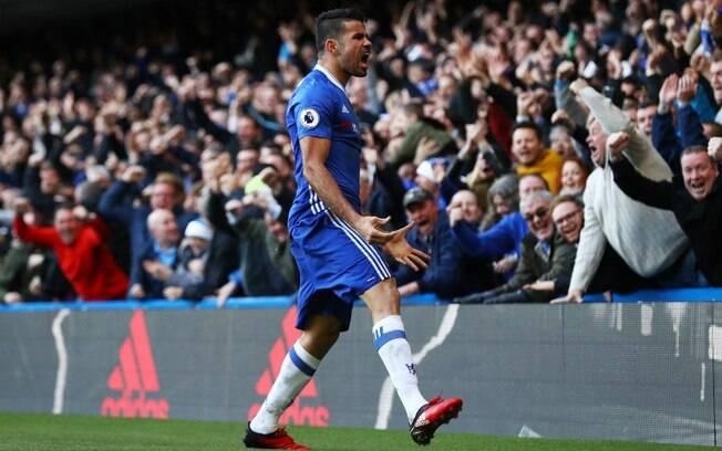 Diego Costa parece não estar muito contente com a imprensa europeia