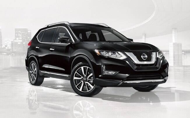 O Nissan Rogue é um dos SUVs híbridos médios, com motor 2.0 que gera uma potência combinada de 176 cv