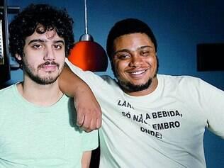 Dupla. Ivan (Sauma) e seu encosto Janjão (Moura)
