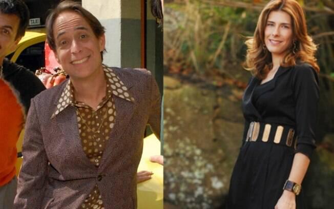 Pedro Cardoso e a mulher, Graziella Moretto: juntos em novo projeto para TV
