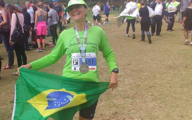 """Luciana Laranjeira, brasileira na Maratona de Jerusalém: """"Uma das corridas mais difíceis que eu fiz"""