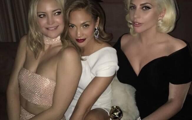Jennifer Lopez na pós-festa do Globo de Ouro
