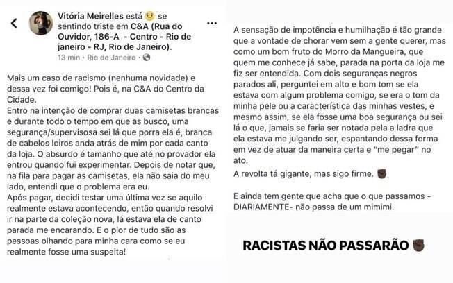 Filha de Ivo Meirelles desabafa sobre caso de racismo