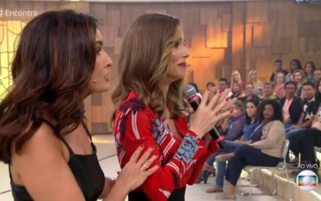 Ana Furtado se emociona ao falar de câncer de mama no
