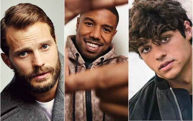 Jamie Dornan, Michael. B Jordan e Noah Centineo estão na lista do homens mais bonitos da cultura pop em 2018!