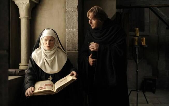 """O filme alemão """"Visão: Da Vida de Hildegard de Bingen""""  (2009) retratou a intensa vida da religiosa alemã"""